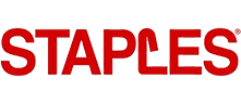 Logo for Staples canada