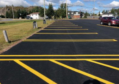 parking paving project of Toronto